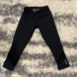 Reebok cropped workout pants